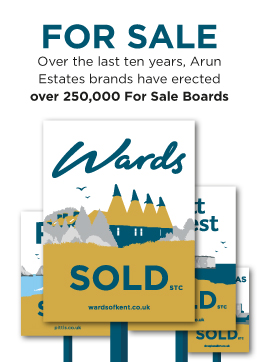 Sold Boards - Over the last 1 years, Arun Estates brands have errected over 250,000 For Sale board!